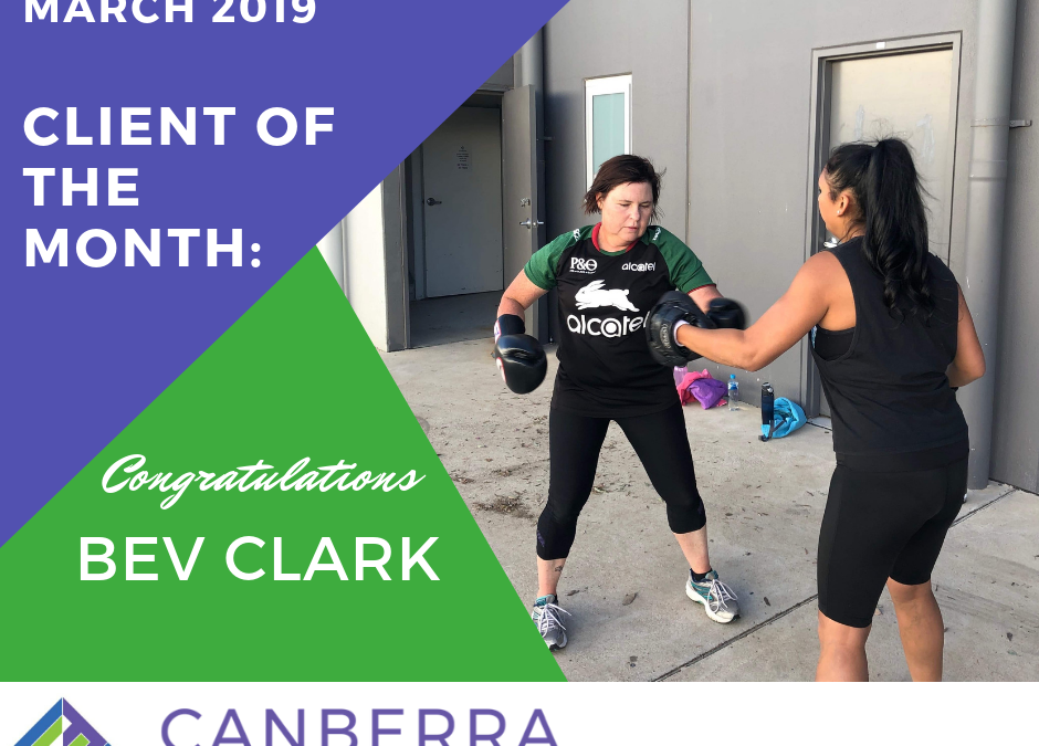 MARCH CLIENT OF THE MONTH
