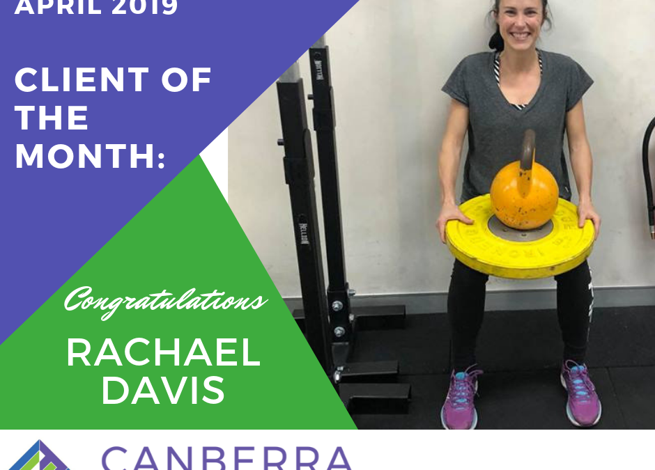 APRIL CLIENT OF THE MONTH