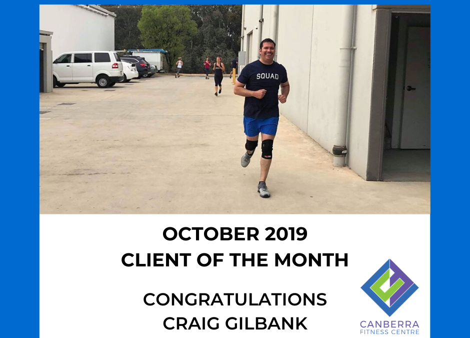 OCTOBER CLIENT OF THE MONTH